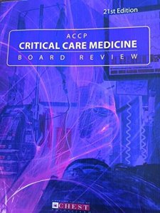 ACCP Critical Care Medicine Board Review 21st Edition PDF