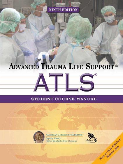 advanced trauma life support atls student course manual 9th edition rh arslanlibrary com atls manual 9th edition free download atls manual 9th edition free download