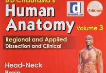 BD Chaurasia's Human Anatomy 4th Edition