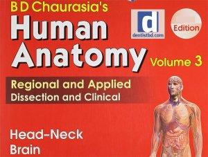 BD Chaurasia's Human Anatomy 4th Edition