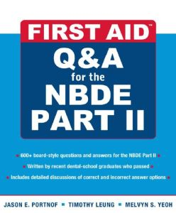 First Aid Q&A for the NBDE Part II PDF