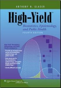 High Yield Biostatistics Epidemiology and Public Health 4th Edition PDF
