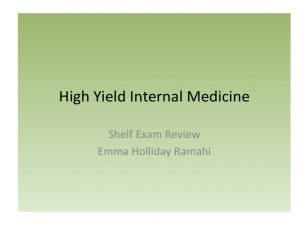 High Yield Internal Medicine PDF