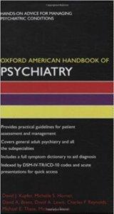 Oxford American Handbook of Psychiatry CHM