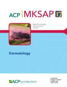 MKSAP 17 Dermatology PDF