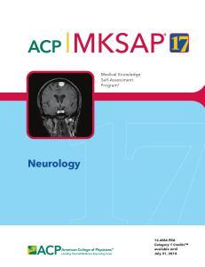 MKSAP 17 Neurology PDF