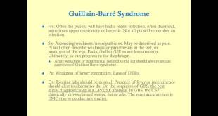 Guillain-Barré Syndrome - Medical Review Series