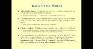 Headache - Medical Review Series