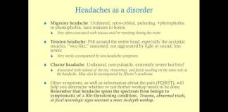 Headache - Medical Review Series