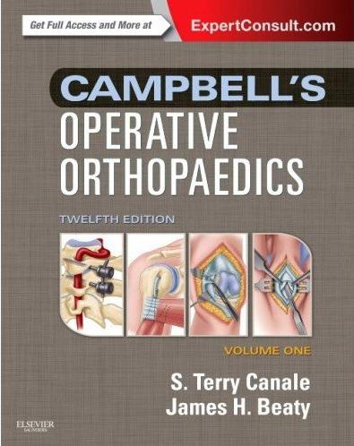 Campbell's Operative Orthopaedics 4-Volume Set 13th