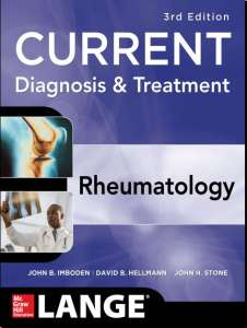 Current Diagnosis & Treatment Rheumatology 3rd Edition PDF
