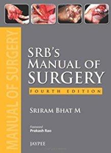 SRB's Manual of Surgery 4th Edition PDF