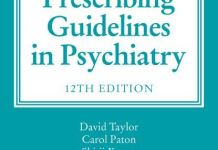 The Maudsley Prescribing Guidelines in Psychiatry 12th Edition PDF