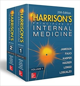 Harrison's Principles of Internal Medicine 20th Edition PDF 2018