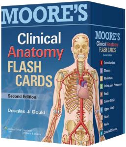 Moore's Clinical Anatomy Flash Cards 2nd Edition PDF