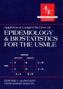 Appleton and Lange's Review of Epidemiology and Biostatistics for the USMLE 1st Edition PDF