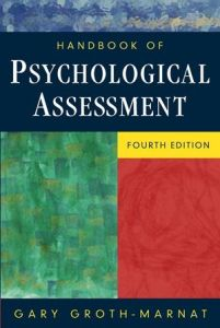 Handbook Of Psychological Assessment 4th Edition PDF