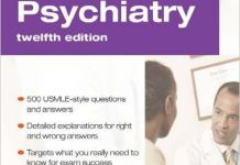 Psychiatry PreTest Self-Assessment and Review 12th Edition PDF