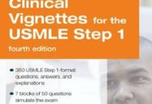 Clinical Vignettes for the USMLE Step 1 PreTest Self-Assessment and Review 4th Edition PDF