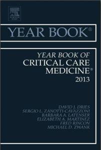 Year Book of Critical Care Medicine 2013 PDF