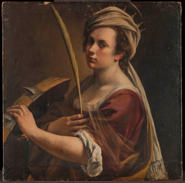 La National Adquiere Autorretrato De Artemisia