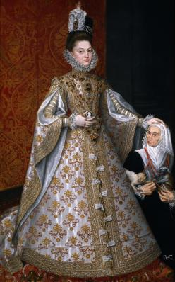 "Alonso Sánchez Coello, ""Portrait of Isabel Clara Eugenia"", 1588"