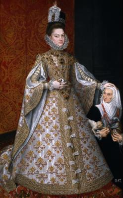 "Alonso Sánchez Coello, ""Portrait of Isabel Clara Eugenia"", 1588"
