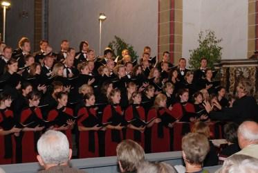 Juli 2007: Gemeinsames Konzert mit Ars Vocalis in Erfurt