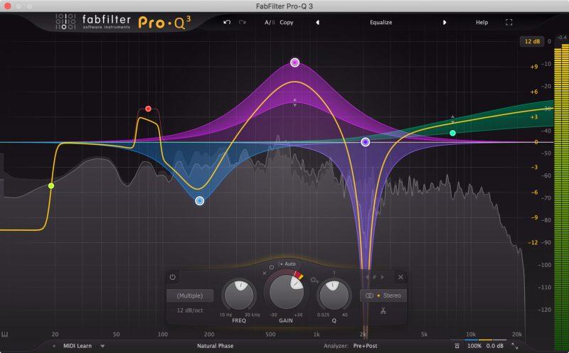plugin EQ Fabfilter Pro-Q