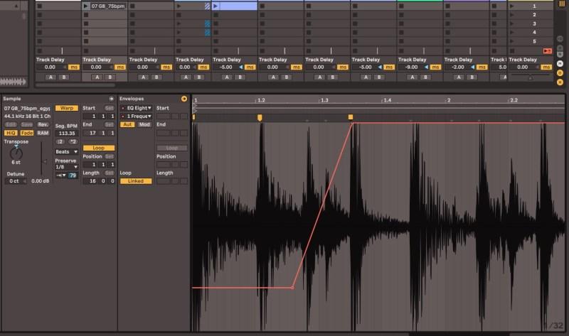 Apprentissage d'une DAW avec l'édition et le traitement d'un clip audio