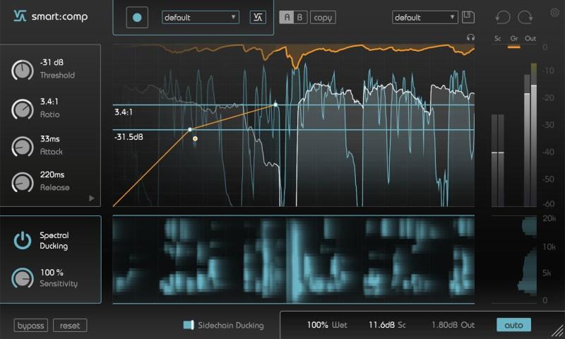 plug-in IA mixage Smart:Comp