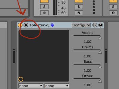 plug-in spleeter dé-mixage audio dans Ableton live