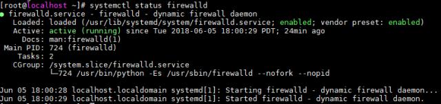 centos firewalld