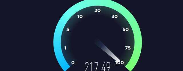 Linux VPS upload download speed test