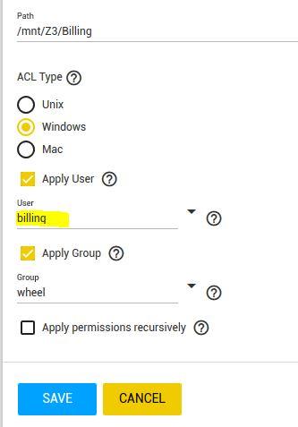 Dataset Permissions