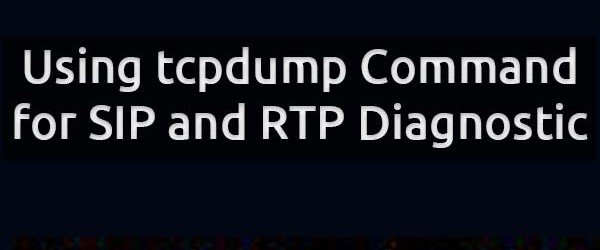 tcpdump sip and rtp