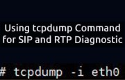 Using tcpdump for SIP and RTP Diagnostic (tcpdump examples)