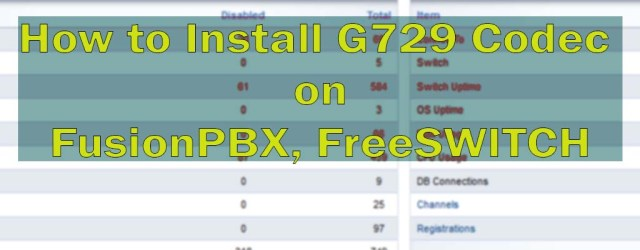 FreeSwitch G729 Free Codec