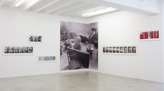 "View of Zofia Kulik, ""Instead of Sculpture – Sequences 1968-71,"" ŻAK 