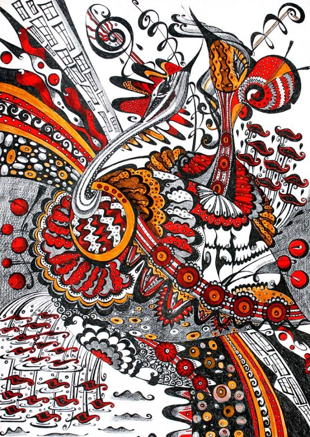 Картина «Любовь птиц» Ирина ШУМСКАЯ Image