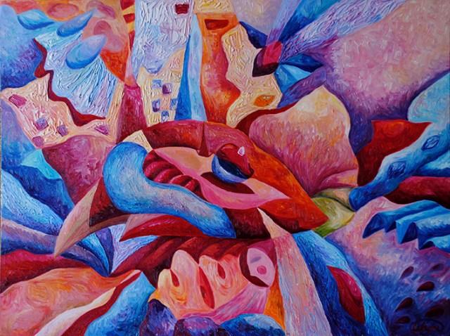 Картина «Томный вечер» Ирина ШУМСКАЯ Image