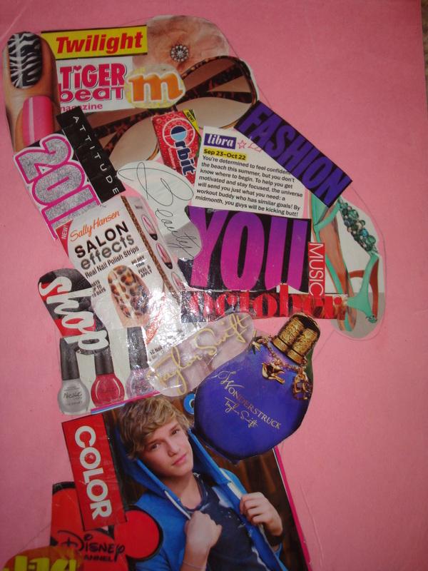 Magazine Collage Art Ideas