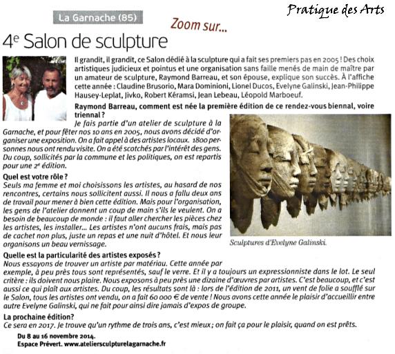 Pratique des Arts 2014