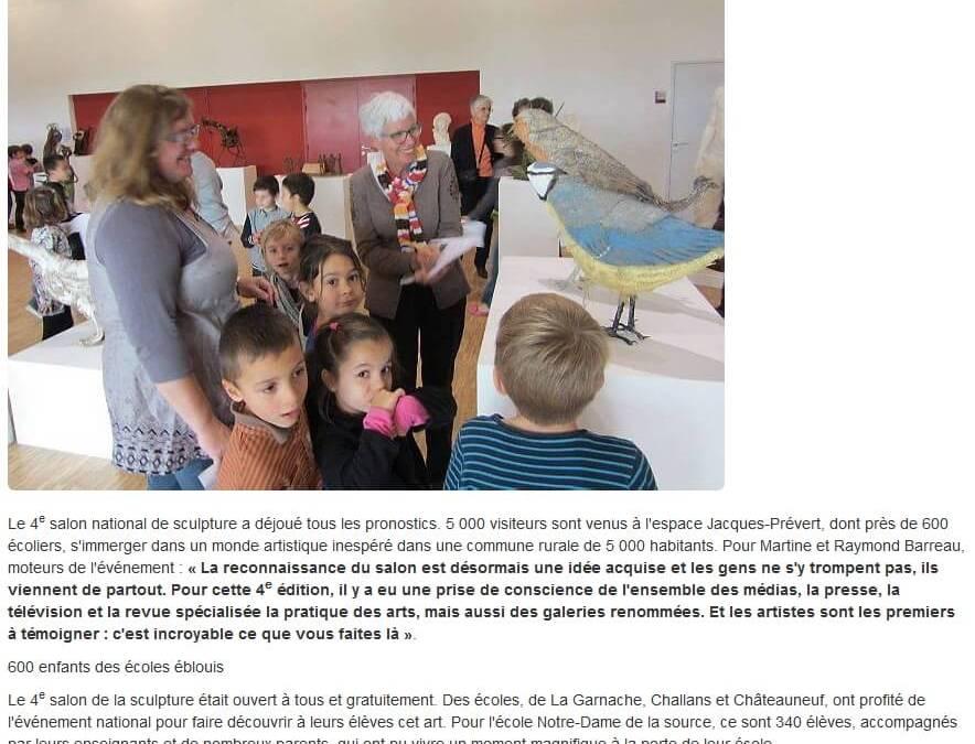Ouest France – 26 nov 2014