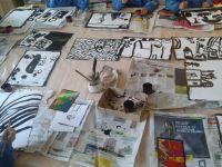 Kids encre de chine, cours de peinture sur brussels