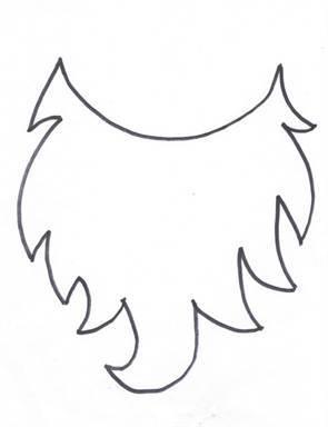 Как сделать бороду для гнома: схема выполнения прилагается