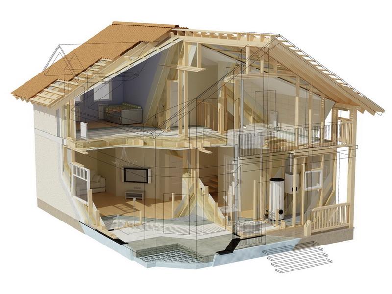 каркасного домостроения