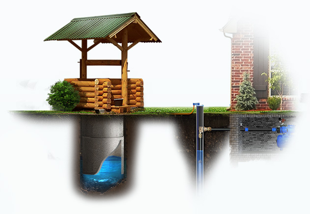Вода на даче