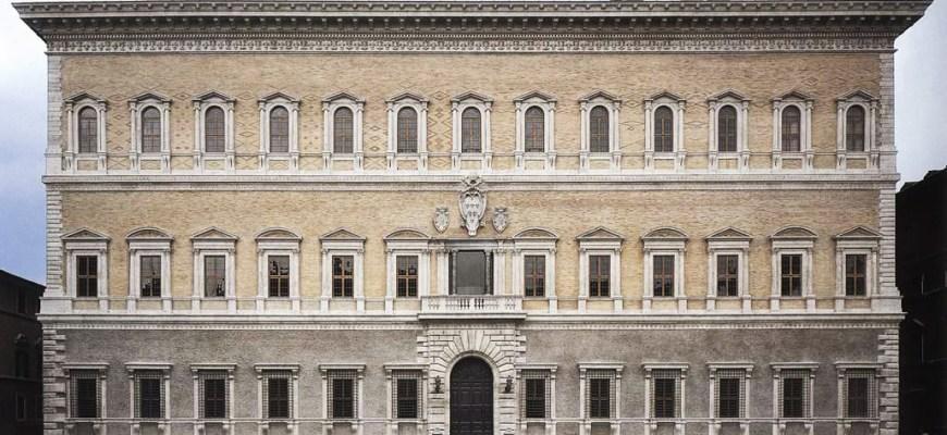 Антонио да Сангалло младший, Палаццо Фарнезе, Рим, 1534-46 г.