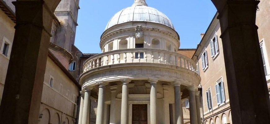 Донато Браманте, Темпьетто Святого Пьетро в Монторио, Рим, 1502 г.